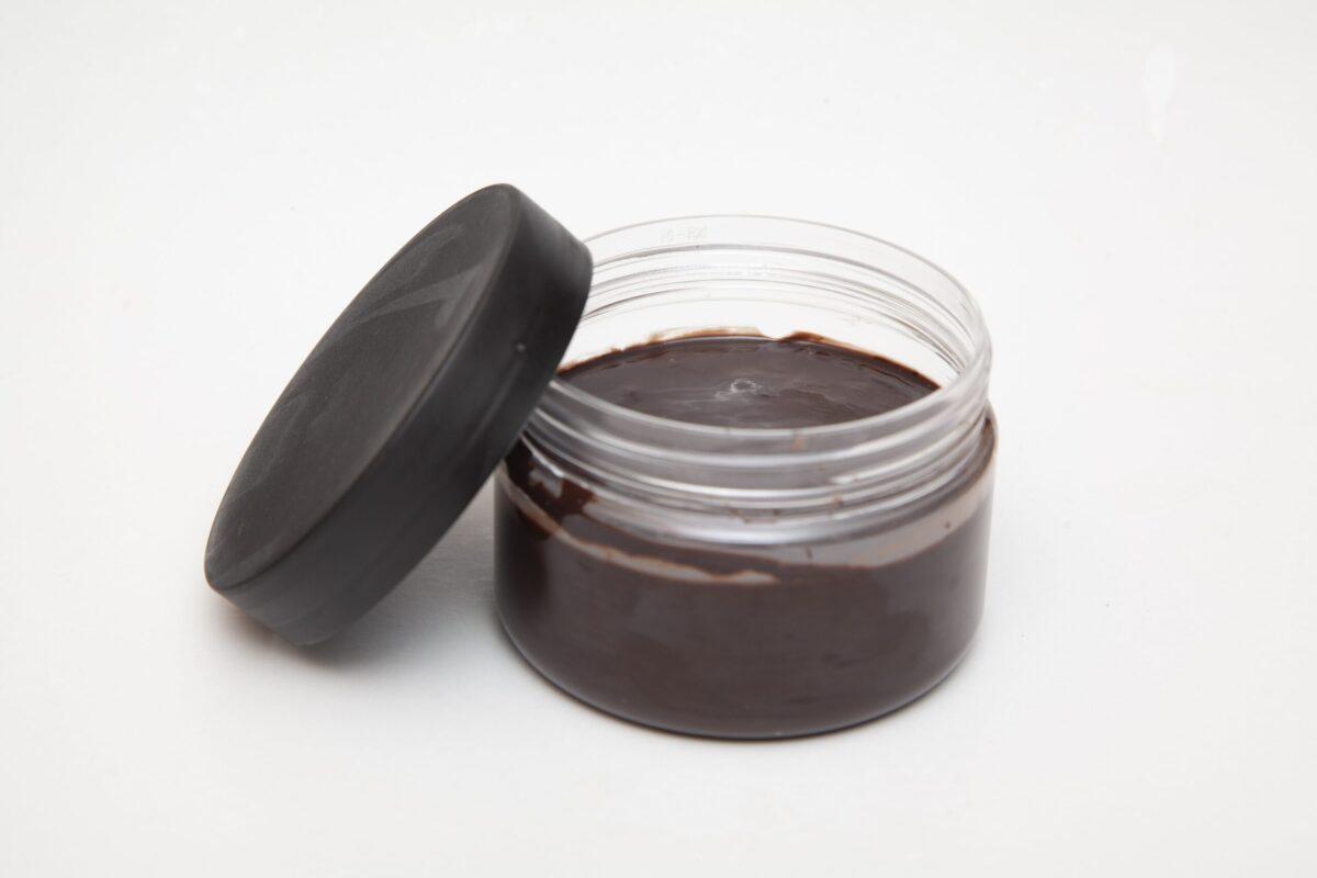 bitter çikolata parçalı kakaolu fındıklı krema