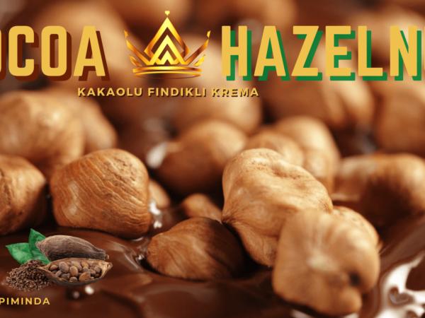 Kakaolu fındıklı krema afiş